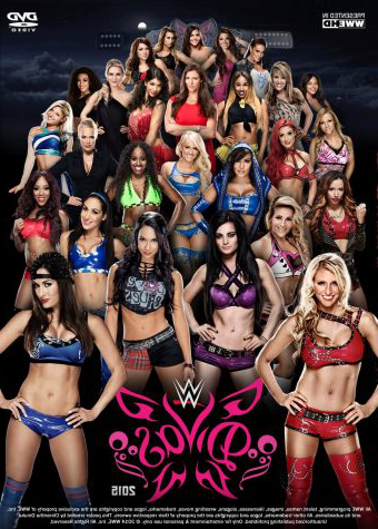 A divas poster from 2015 right before the revolution took off, the over sexualizing of the women in WWE even showed in posters. (WWE NETWORK)